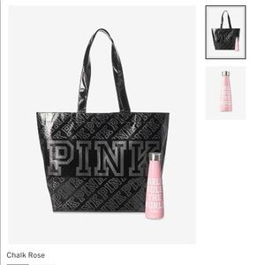 PINK S'WELL WATER BOTTLE AND REUSABLE TOTE BAG